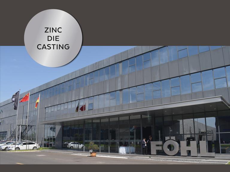 Adolf Föhl GmbH: Föhl China zinc