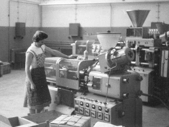 Adolf Föhl GmbH: Die erste Föhl Maschine